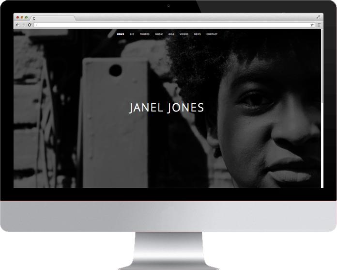 Janel Jones on Desktop