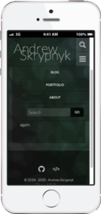 A.G. Skryp on Mobile
